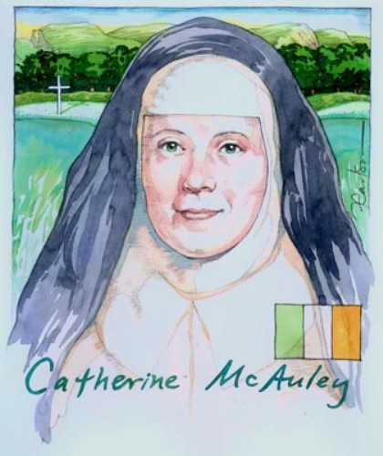 Facts about Catherine Mcauley