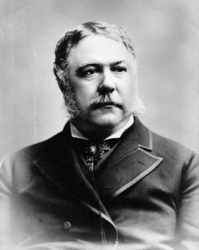 Facts about Chester A Arthur