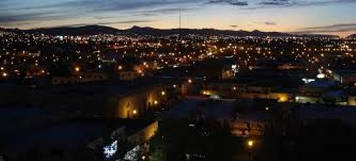 Chihuahua Mexico at Night