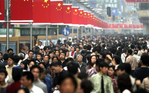 China's Population Pictures