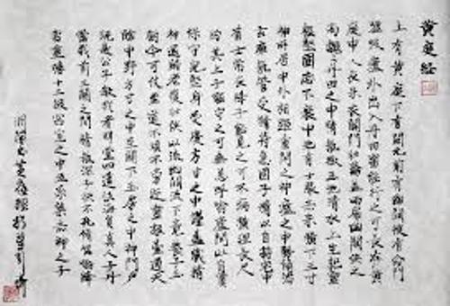 Chinese Calligraphy Image