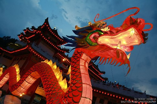 Chinese Dragons Lantern