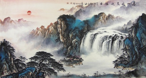 Chinese Landscape Painting Pic
