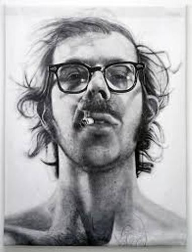 Chuck Close Pic
