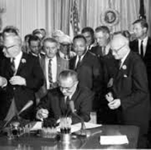 Civil Rights Act of 1964 Picture