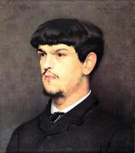Claude Debussy Young