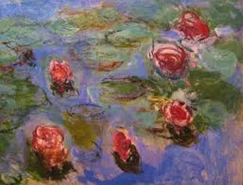 Claude Monet Painting