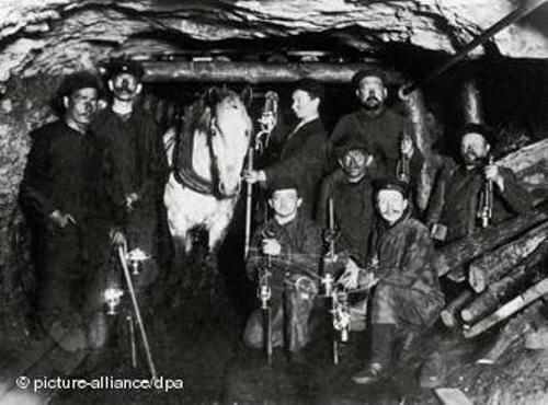 Coal Mining in the Industrial Revolution Image