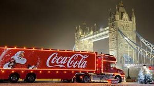 Coca Coal Truck