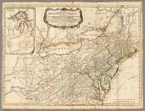 Colonial Delaware Map