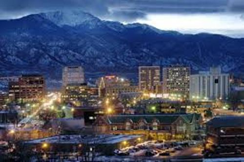 Colorado Springs at Night