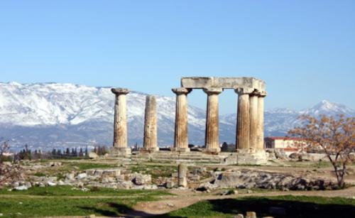 Ancient Corinth Pic