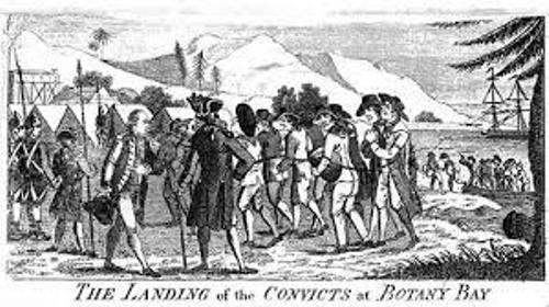 Australian Convict Image