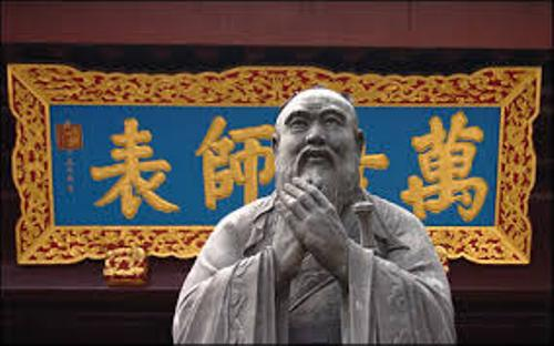 Confucius Statue