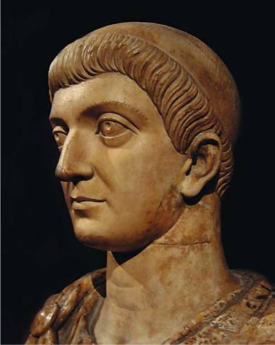 Constantine The Great Painting
