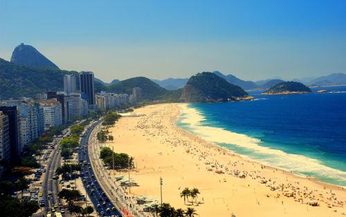 Copacabana Beach Pictures