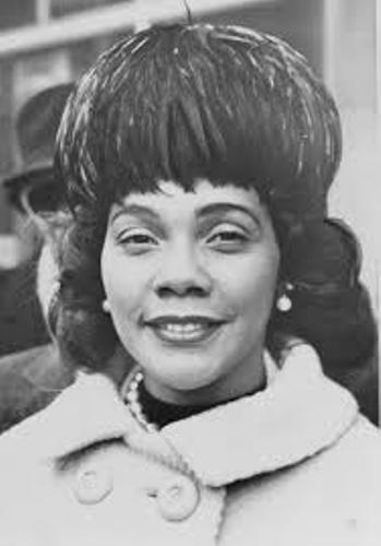 Coretta Scott King Hair