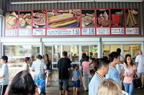 Facts about Costco Food Court