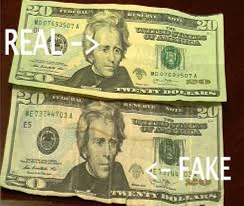 Counterfeit Money Pictures
