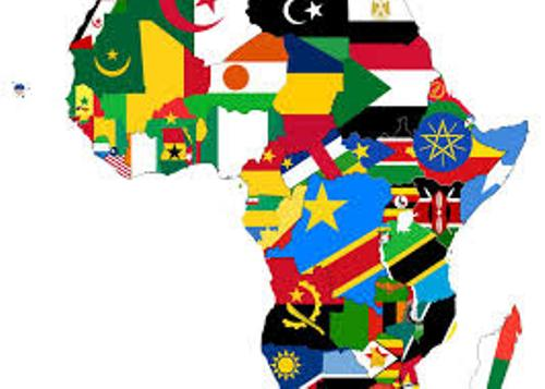 Countries in Africa Map