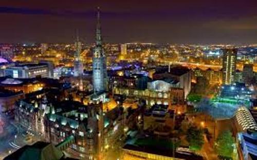 Coventry Skyline