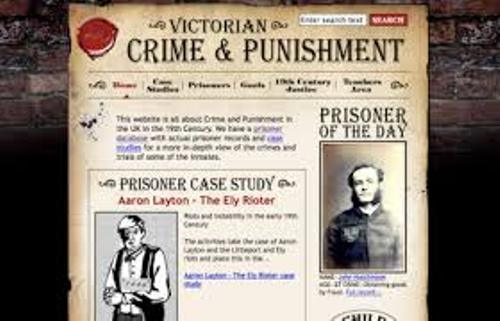 Crime And Punishment in Victorian Times