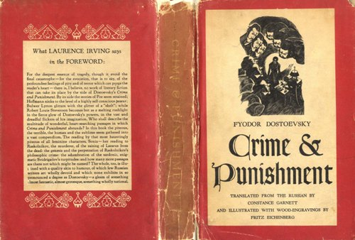 cirime and punishment Stealing, punishment and the jewish way by avi lazerson it is interesting to compare the jewish method of dealing with thieves to the non-jewish method.