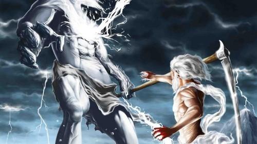 Cronus and Zeus