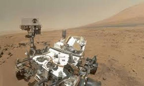 Curiosity's Journey to Mars Image
