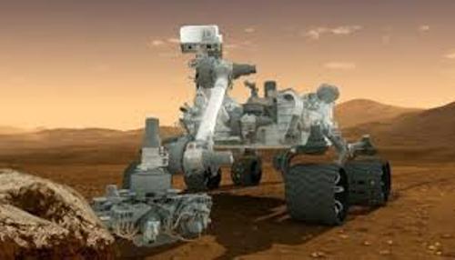 Curiosity's Journey to Mars Pic
