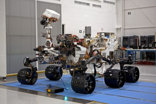 Curiosity's Journey to Mars Pictures