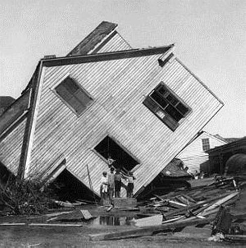 Cyclone Mahina Damages