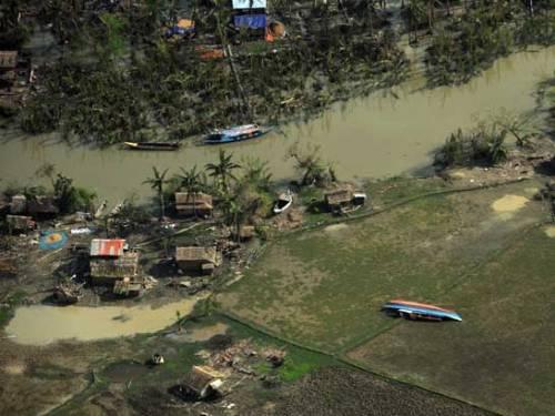 Cyclone Nargis Image