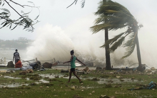 Cyclone Pam Pictures