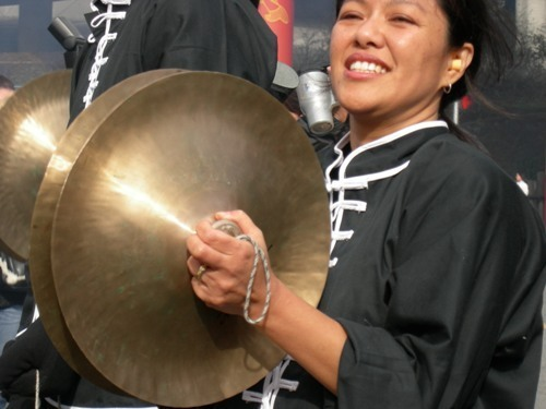 Cymbal Players