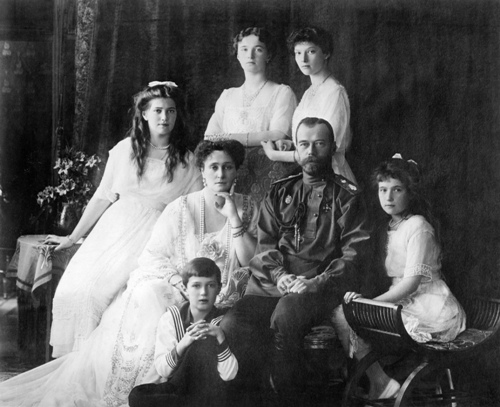 Czar Nicholas II Family