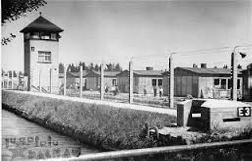 Dachau Concentration Camp Pic