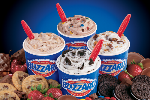 Dairy Queen Products