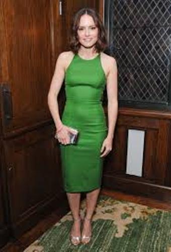 Daisy Ridley in Green