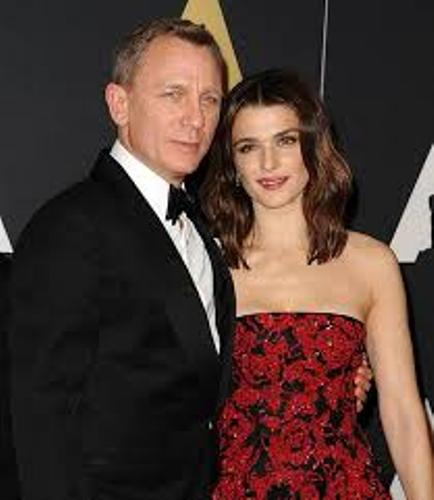 Daniel Craig and Wife