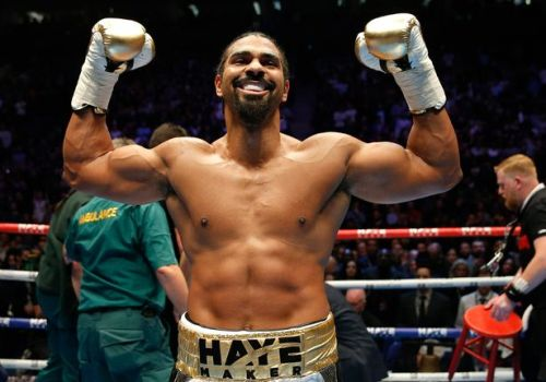 David Haye Images