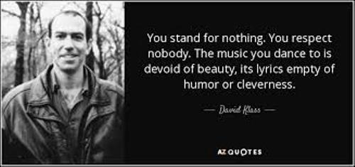 David Klass Quote