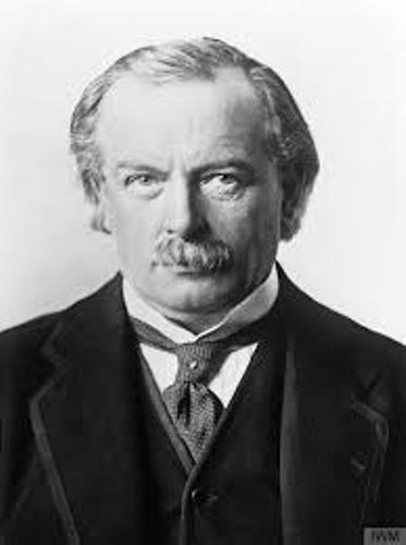 David Lloyd George Photo