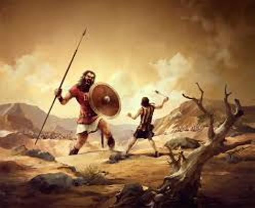 David and Goliath Images
