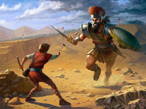 David and Goliath Pictures