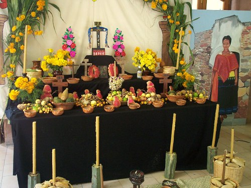 Day of The Dead Mexico Altar
