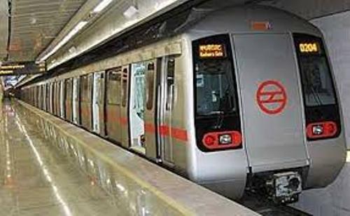 Delhi Metro Images