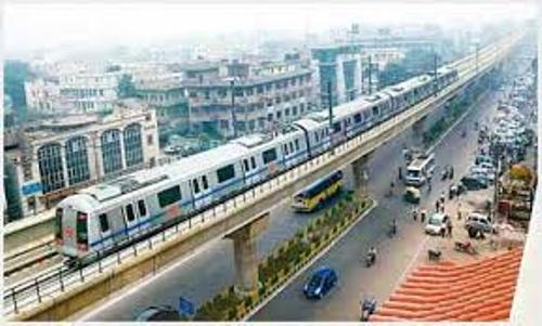 Delhi Metro Pic