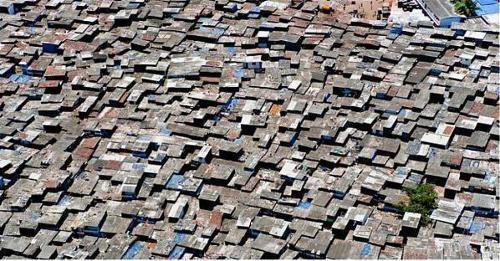 Dharavi Slum Image