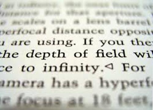 Facts about Depth of Field